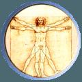 Chiropractic Services Vitruvian man